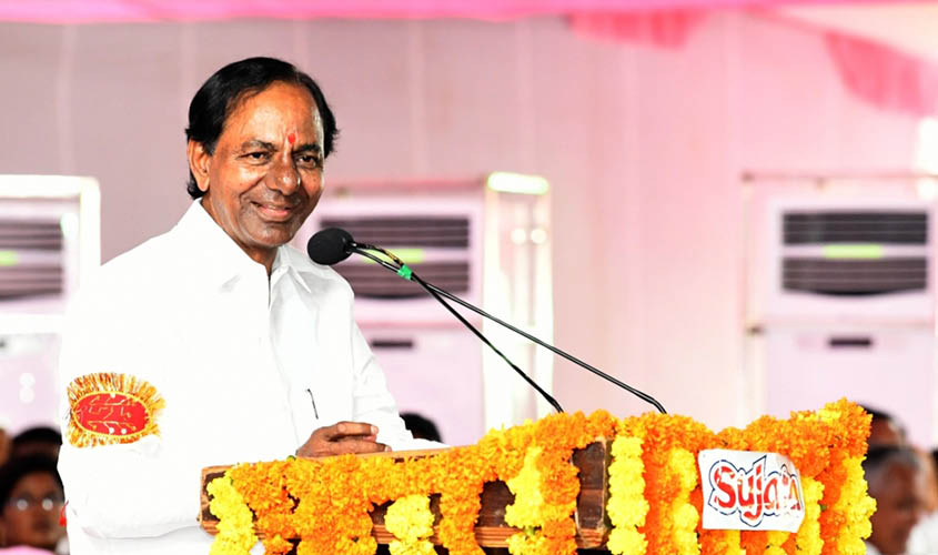 TRS emerging as the single largest party