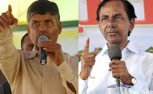 KCR planning something big against Naidu politically