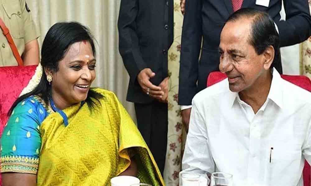 Telangana Governor, KCR greet Modi on birthday