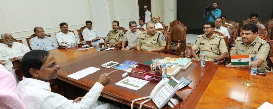 CM KCR talks tough against adulteration