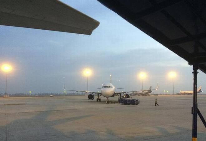 Bengaluru-bound flight makes emergency landing at Hyderabad airport