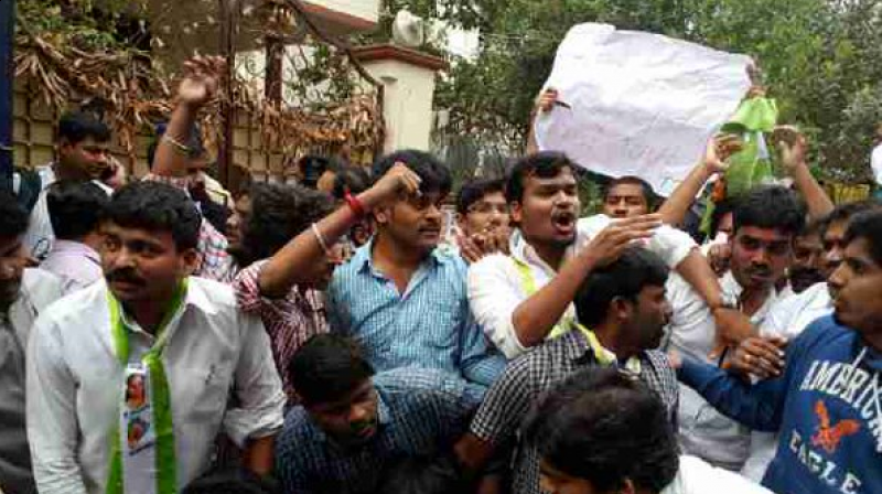 Fresh protests in Hyderabad University