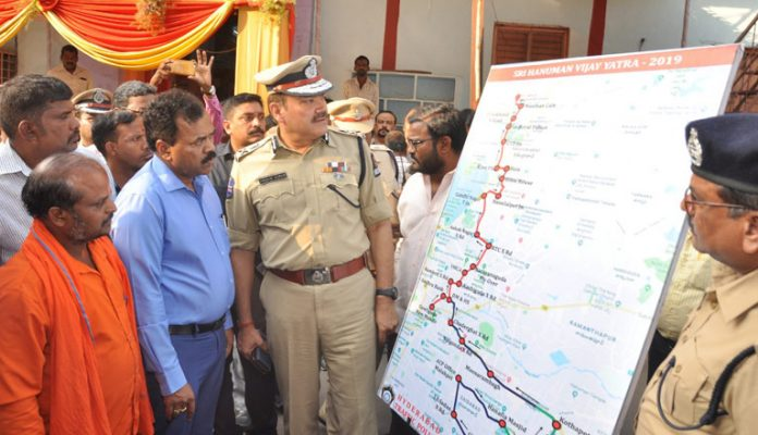 Tight security for Hanuman Jayanti in Hyderabad