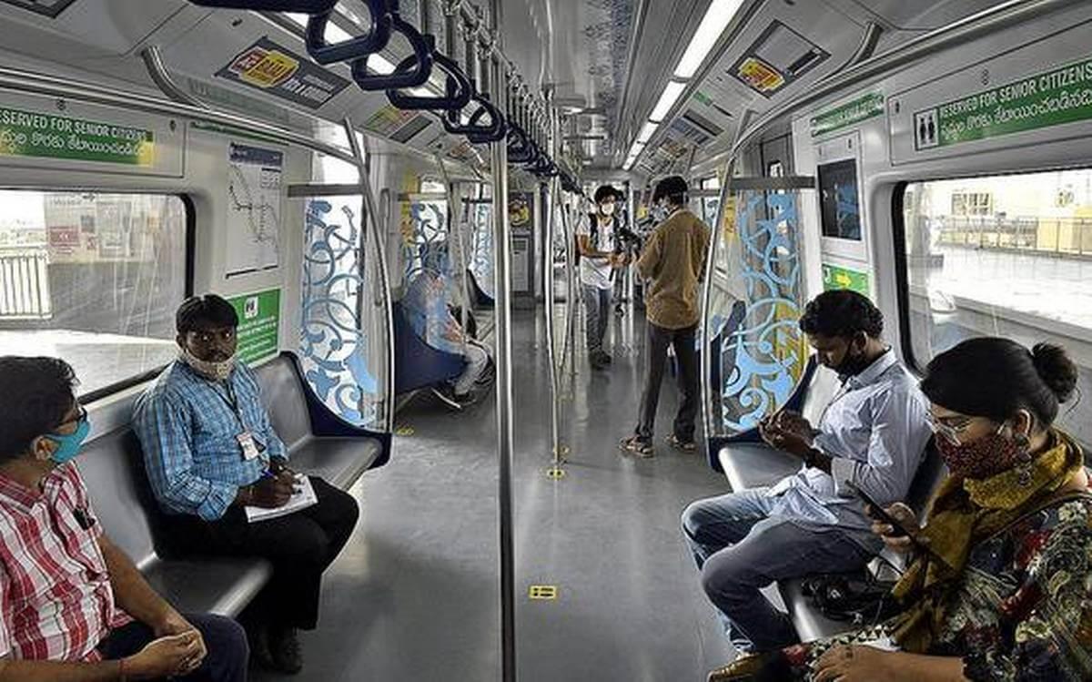 metrorailservicesresumeinhyderabadafterfivemonths