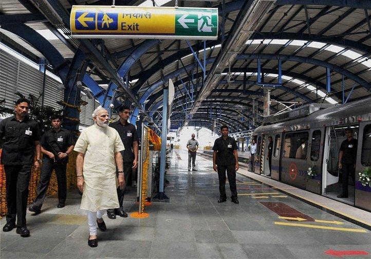 pm-modi-to-ride-on-metro-rail-till-kukatpally-after-launch