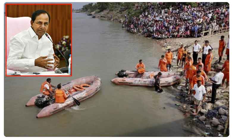 Rs.5 lakh ex gratia for TS boat victims: KCR