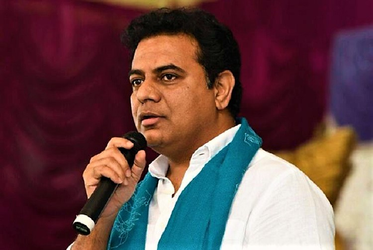 Such cloudbursts and heavy rainfall would flood any city in the world: K T Rama Rao