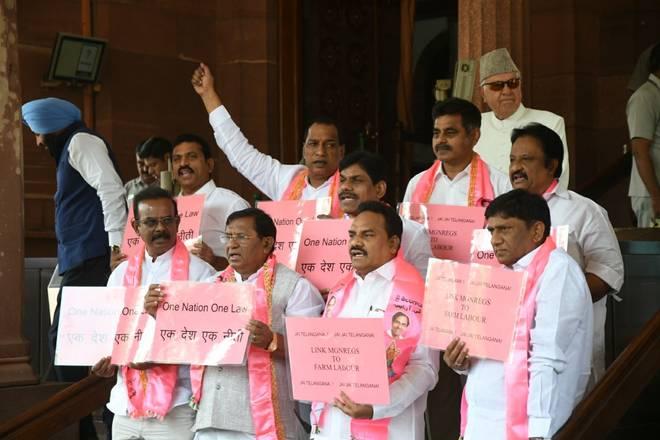 TRS not to disrupt Lok Sabha during no-trust motion debate