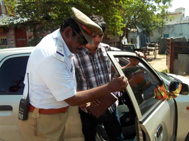 Drive against tinted glass vehicles in Hyderabad from today