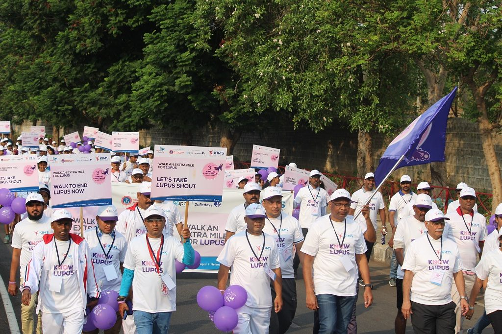 Lupus Walk 2017 : Hyderabad walks for a purpose