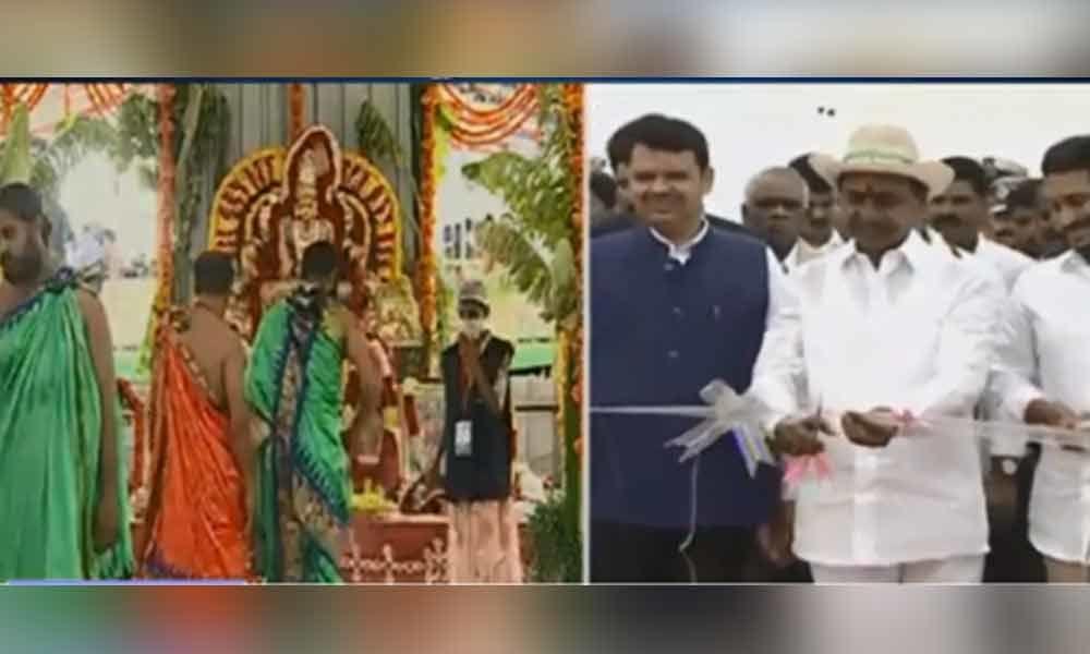 Kaleshwaram Lift Irrigation Project inaugurated