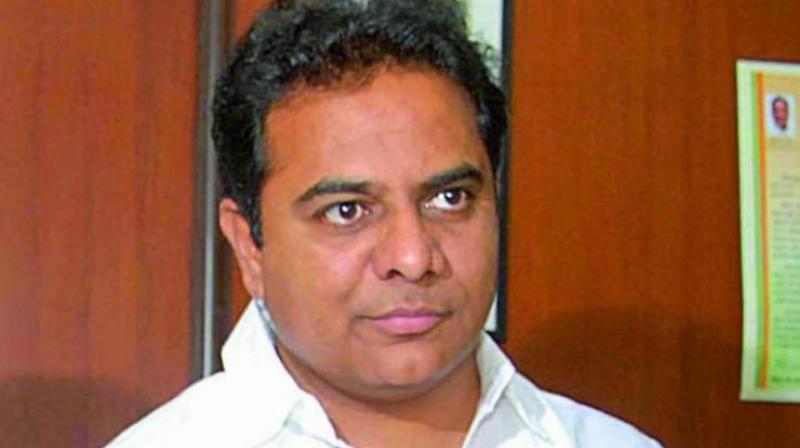 300-bed hospital in every district of Telangana: K T Rama Rao