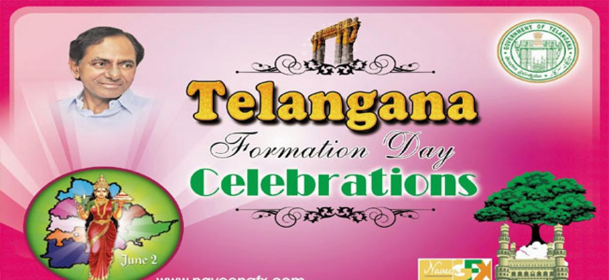 Telangana to hold big Formation Day celebrations on June 2