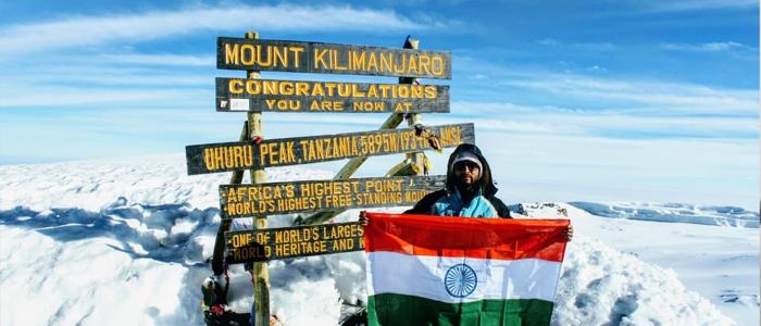 Telangana lad climbs Mt.Kilimanjaro