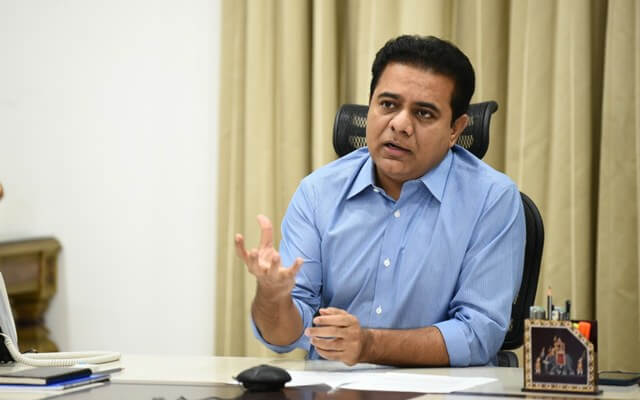 KTR appeals to BCCI to include Hyderabad as IPL venue for upcoming season