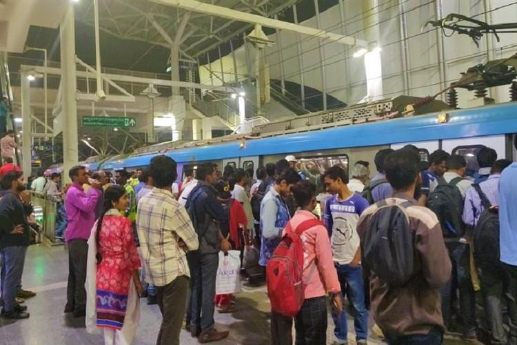 Hyderabad Metro train services disrupted due to technical snag