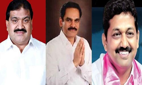 TRS leaders win in local body MLC election