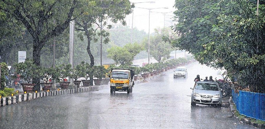 Telangana records above normal rainfall