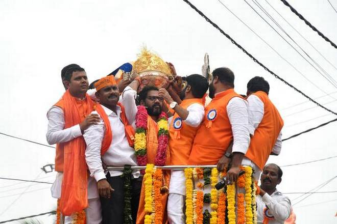 Balapur laddu bids for Rs.17.60 lakh