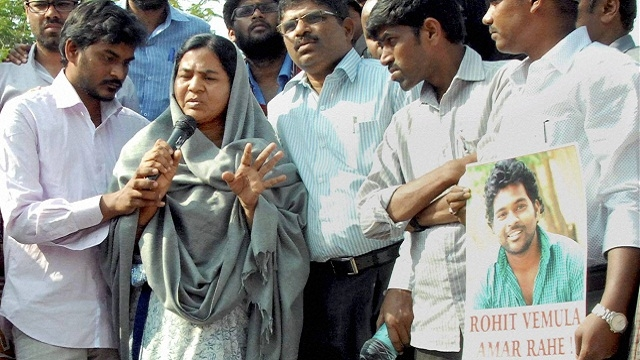 Governments are desperate to declare Rohit as OBC: Radhika Vemula