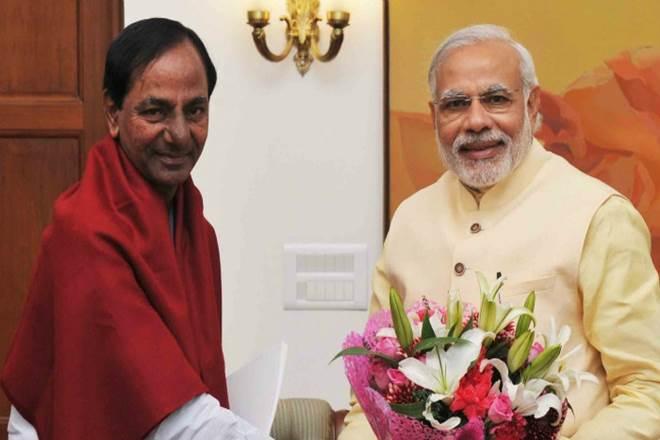 Telangana CM meets PM, seeks Centre