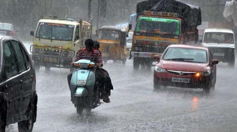 Rain extremities may increase in Hyderabad: Scientists