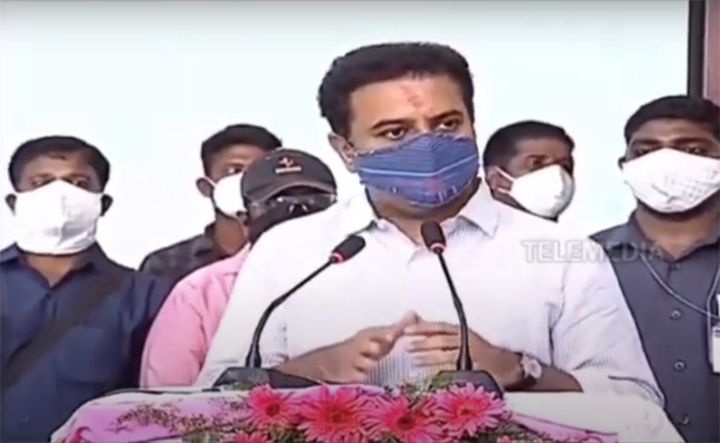 We are ready to consider any constructive suggestion from the Opposition leaders to improve medical services: K T Rama Rao