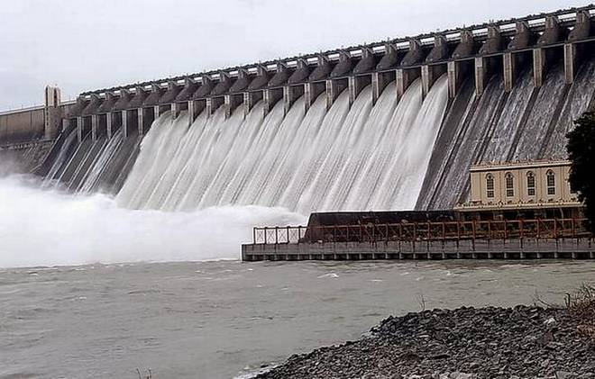 Sriram Sagar Project lifts eight flood gates