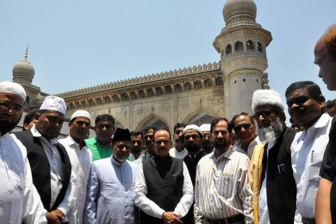 TS Govt. increase the salary of Makkah Masjid employees