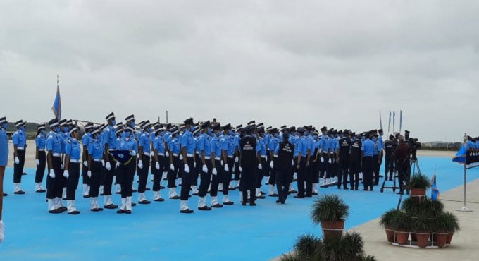 Combined Graduation Parade held at Air Force Academy, Dundigal
