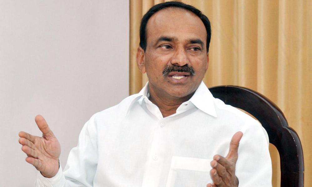 TRS lodges complaint against Eatala over money distribution