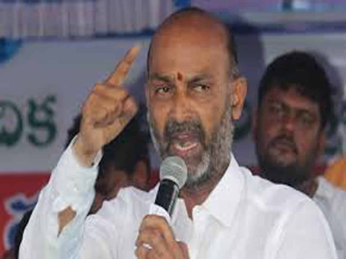 Case file against Bandi Sanjay over provocative remarks