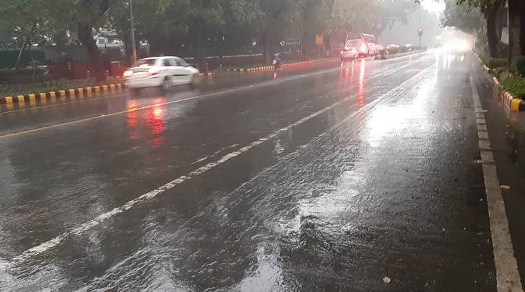 Hyderabad records light rainfall yesterday