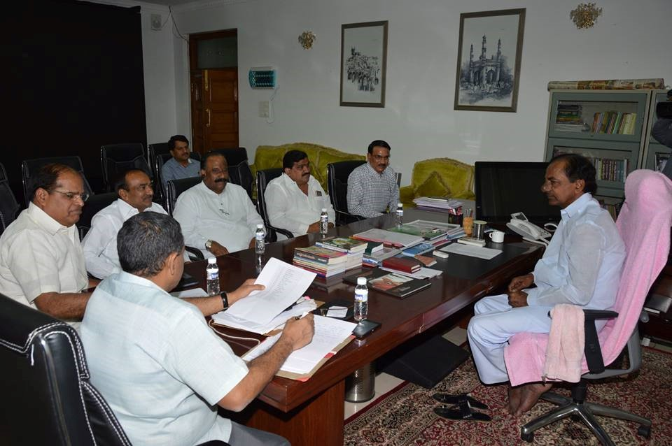 telanganagovtconstitutescabinetsubcommitteeoncreationofnewdistricts