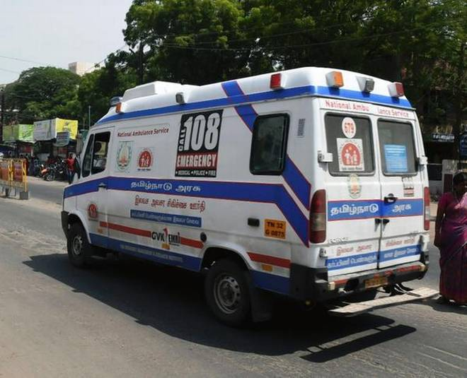 Woman delivers baby boy in ambulance in Hyderabad