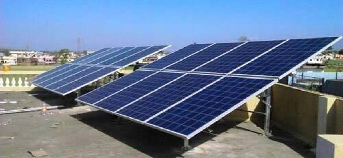 KCR moots for solar power
