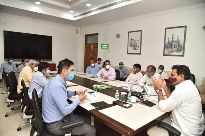 KTR directs KLIS engineers to complete Package-9 works by October
