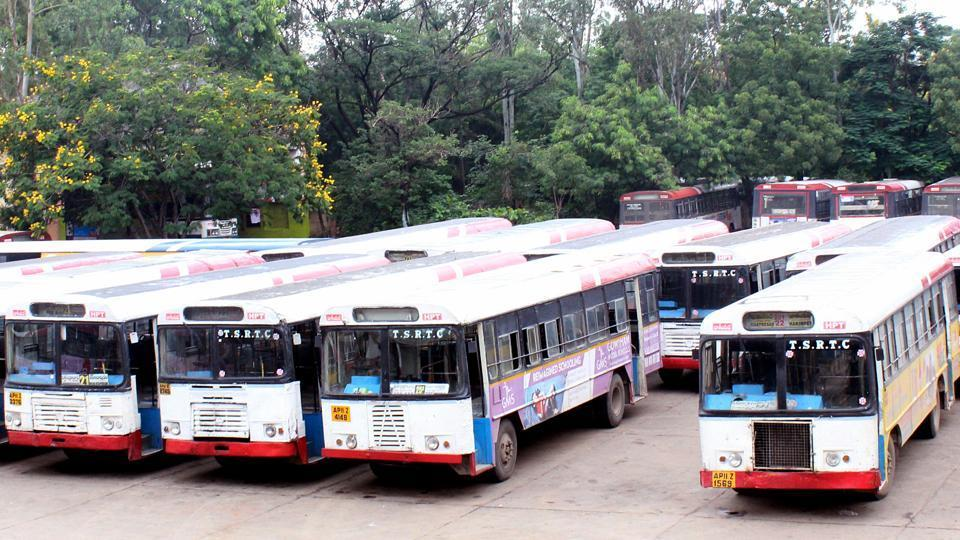 TSRTC strike continues for 18th day