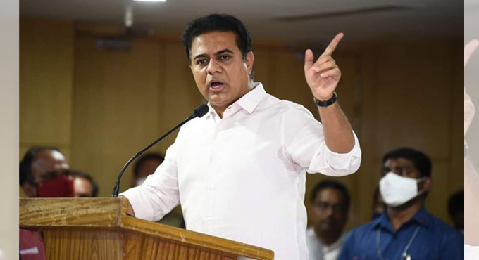 KTR ruled out the possibility of imposing a complete lockdown in Telangana