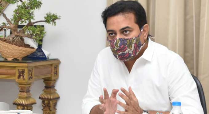 KTR urges Eatala Rajender to take strict action against private hospitals