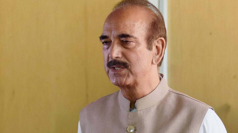 Ghulam Nabi Azad to visit Telangana tomorrow