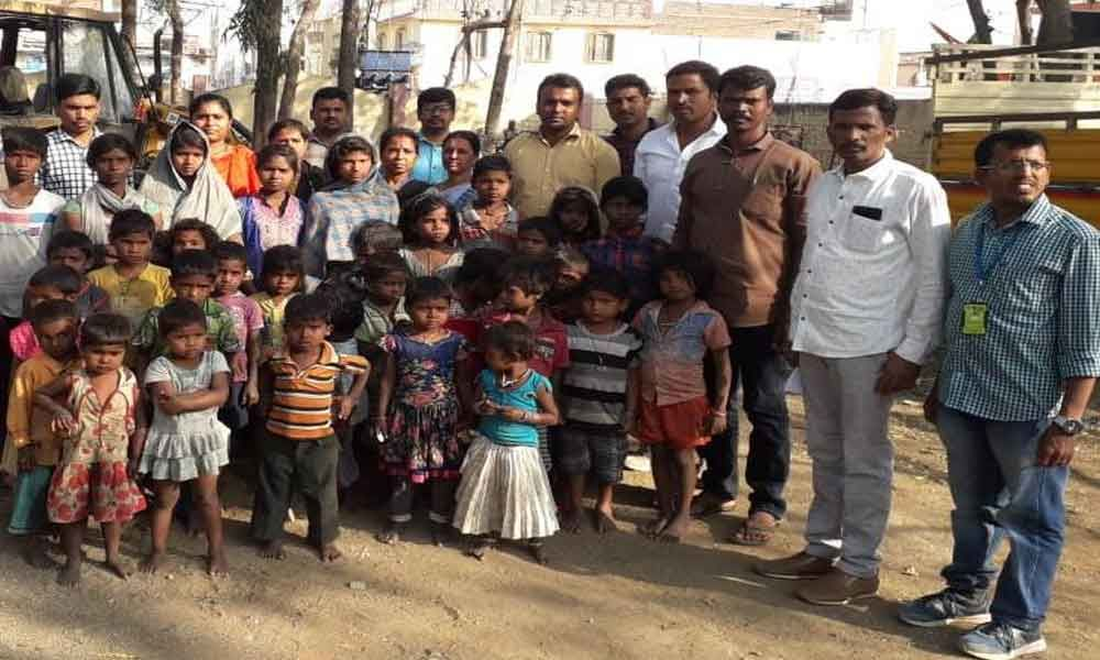 581 children rescued under