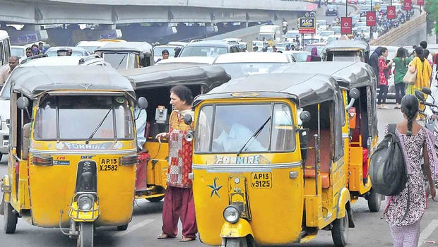 Hyderabad Auto drivers facing a tough competition from Uber & Ola