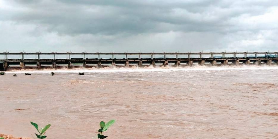 Godavari crosses first danger level again