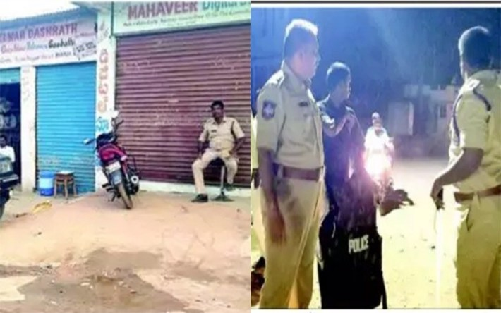Tension in Bhainsa Town