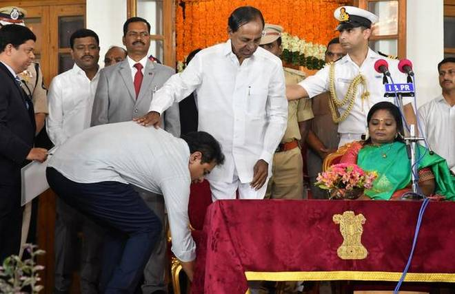 Chandrasekhar Rao Cabinet gets six more ministers