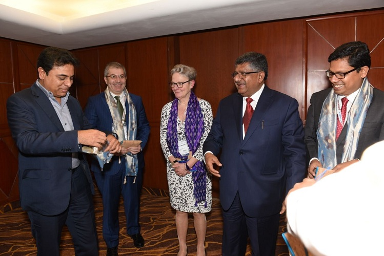KTR invites firms to invest in TS at WCIT 2018