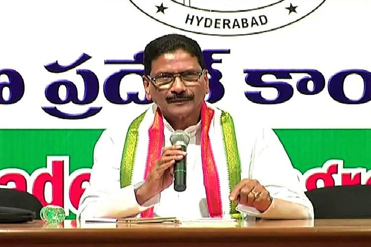 Senior Congress leader Marri Shashidhar Reddy demands removal of PCC chief in Telangana