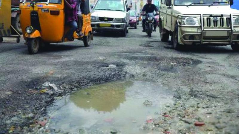 Hyderabad: Bumpy rides to stay as only 8 roads fixed
