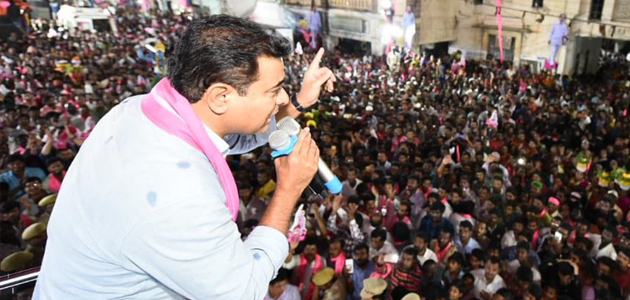 BJP, Congress manifestos reflect TRS schemes: KT Rama Rao